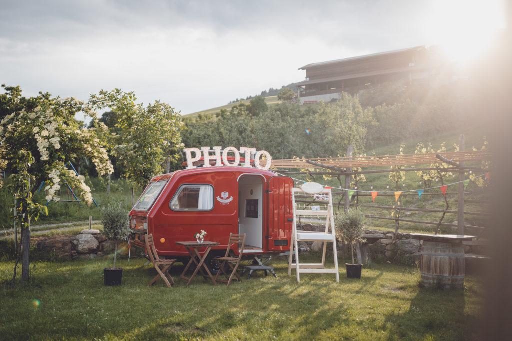 Fotobox Caravan Südtirol